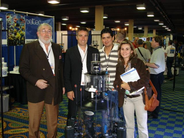 Claudia and Carlos our distributors in Mexico